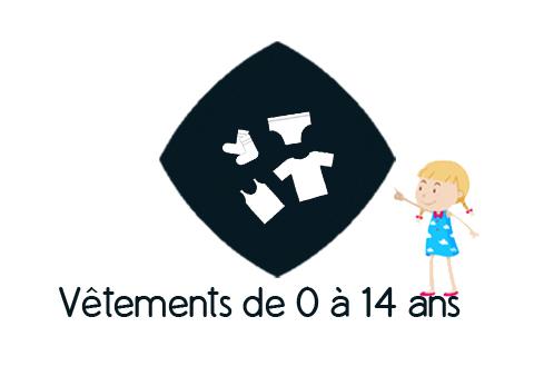 Logo Z - Accès à la rubrique vêtements de 0 à 14 ans